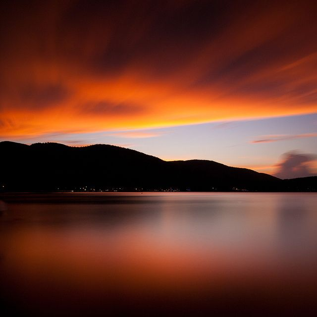 Lake George Sunset by AaronBBrown, via Flickr