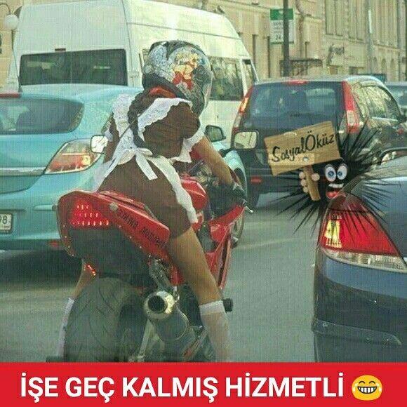 Hayat sevince, paylaşınca güzel! #günaydın #iş #trafik #motor #resim #resimler #caps #sabah #komik #mizah