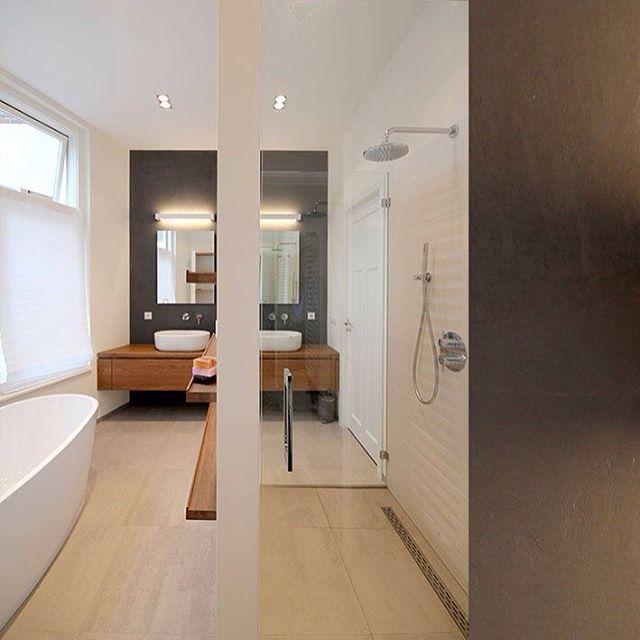 17 best images about hout in de badkamer on pinterest vanities malaga and modern bathroom - Hout in de badkamer ...