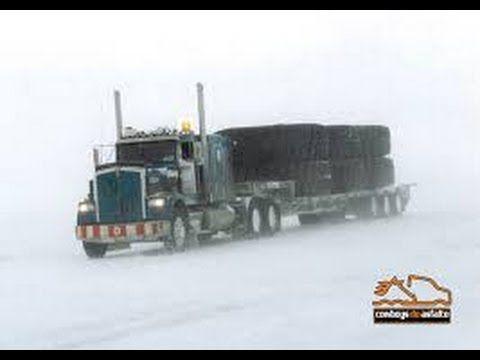 Caminhões Ao Extremo (no Gelo)  - Caminhoneiros Brasileiro a Baixo de Zero