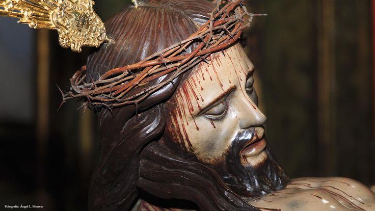El Cristo de la Lanzada será trasladado hoy a su paso por un grupo personas ciegas