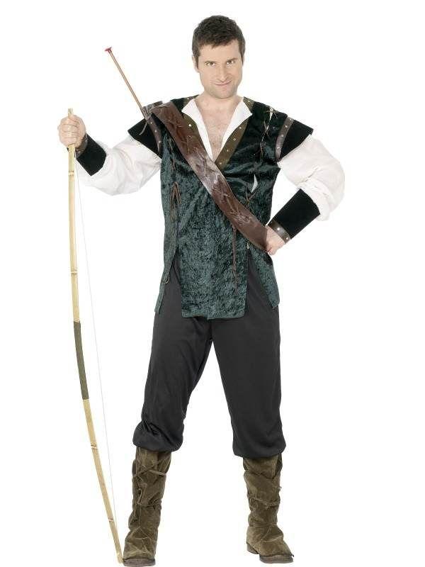 Robin Hood Heren Kostuum!