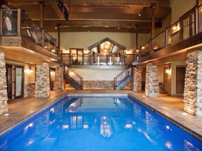 Best Inside Pools Images On Pinterest Inside Pool