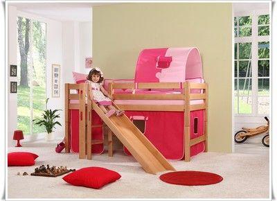 1000 ideas about spielbett mit rutsche on pinterest. Black Bedroom Furniture Sets. Home Design Ideas