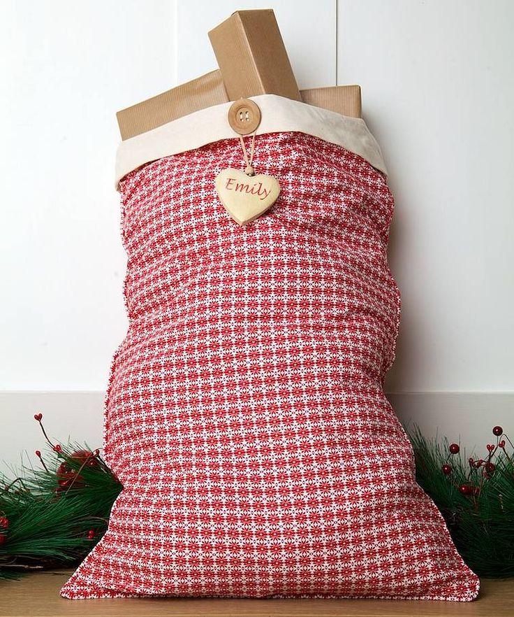 personalised alpine santa sack by santa sacks   notonthehighstreet.com