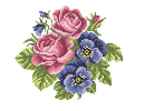 Embroidery Roses machine embroidery Roses cross stitch