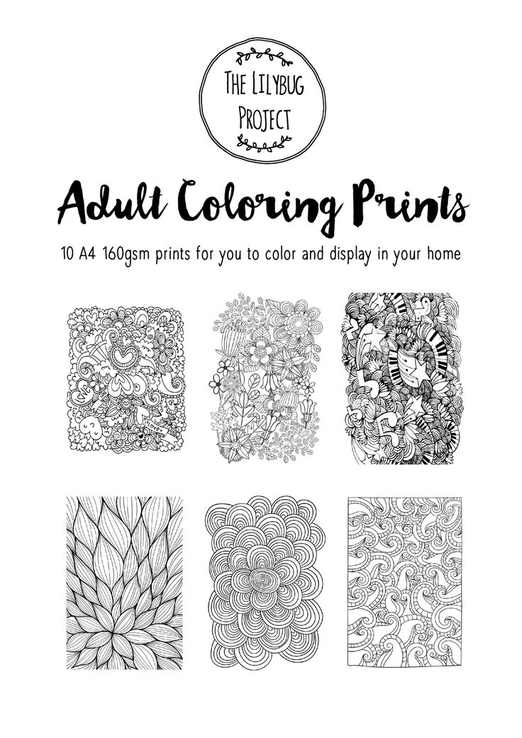 Beautifully detailed prints to help you relax and unwind. Each print is printed on quality 160gsm paper, and is ready to be framed once you have added your own colorful touches. Our colouring print sets are perfect for some relaxation. The thick one sided pages are perfect for felts and even water colour paint! Color to match your home decor, or add a splash of color for a personalized gift. Great Christmas present for your Secret Santa or the creative people in your family. Details: A set…