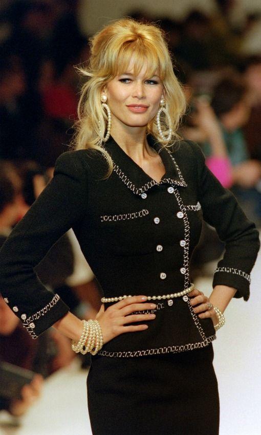 Doce razones por las que Claudia Schiffer siempre será 'Claudia' - Foto 1