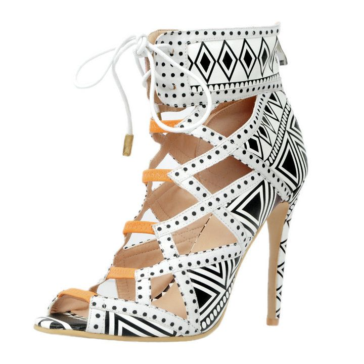 PADEGAO+Women Sandals New Arrive Fashion  High Heels Lace Shoes for Women Triangle Pattern Plus Size Us3-12  Party Wedding xd003 , https://myalphastore.com/products/padegaowomen-sandals-new-arrive-fashion-high-heels-lace-shoes-for-women-triangle-pattern-plus-size-us3-12-party-wedding-xd003/,