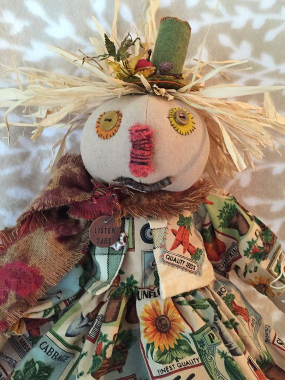 Check out this item in my Etsy shop https://www.etsy.com/listing/457768382/garden-decor-scarecrow-doll-dolls