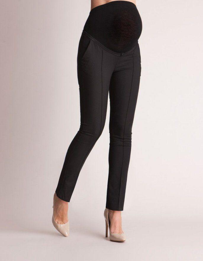 nuevo estilo 588e4 f3d66 Tailored Black Maternity Pants | embarazada | Pantalones de ...