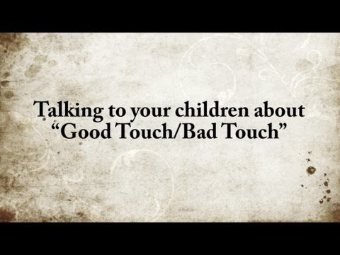 35 best Cslg: Good Touch Bad Touch images on Pinterest