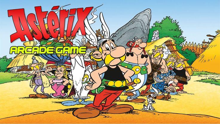 Asterix Arcade Game|Chapadas por todo o lado|Walkthrough Longplay HD
