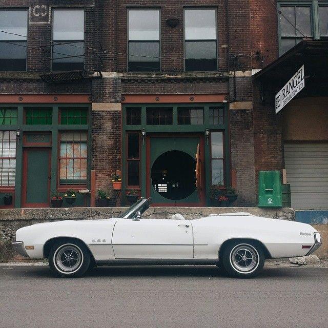 white Buick / photo by Stephen Ozga
