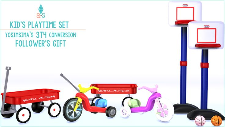 ajoya's ♦ simblr • Kid's Playtime Set 2060 FOLLOWERS GIFT –  Thank U… | Sims 4 Updates -♦- Sims Finds & Sims Must Haves -♦- Free Sims Downloads