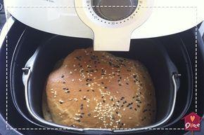 Receita de pão na airfryer que dá certo!