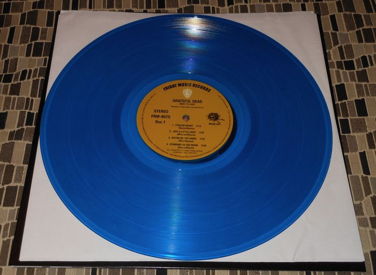 The Grateful Dead Built To Last Friday Music 180g Blue colored vinyl.