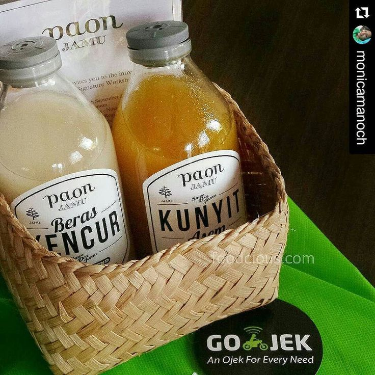 #Repost @monicamanoch  I'm so ready for tomorrow Jamu Workshop event at @tamanbhagawan.  Learning how to make Jamu a traditional herbal drinks and followed by jamu pairing dinner.  Thank you Taman Bhagawan & Gojek for the hampers  #foodblog #bali #jamu #herbal #healthy #drinks