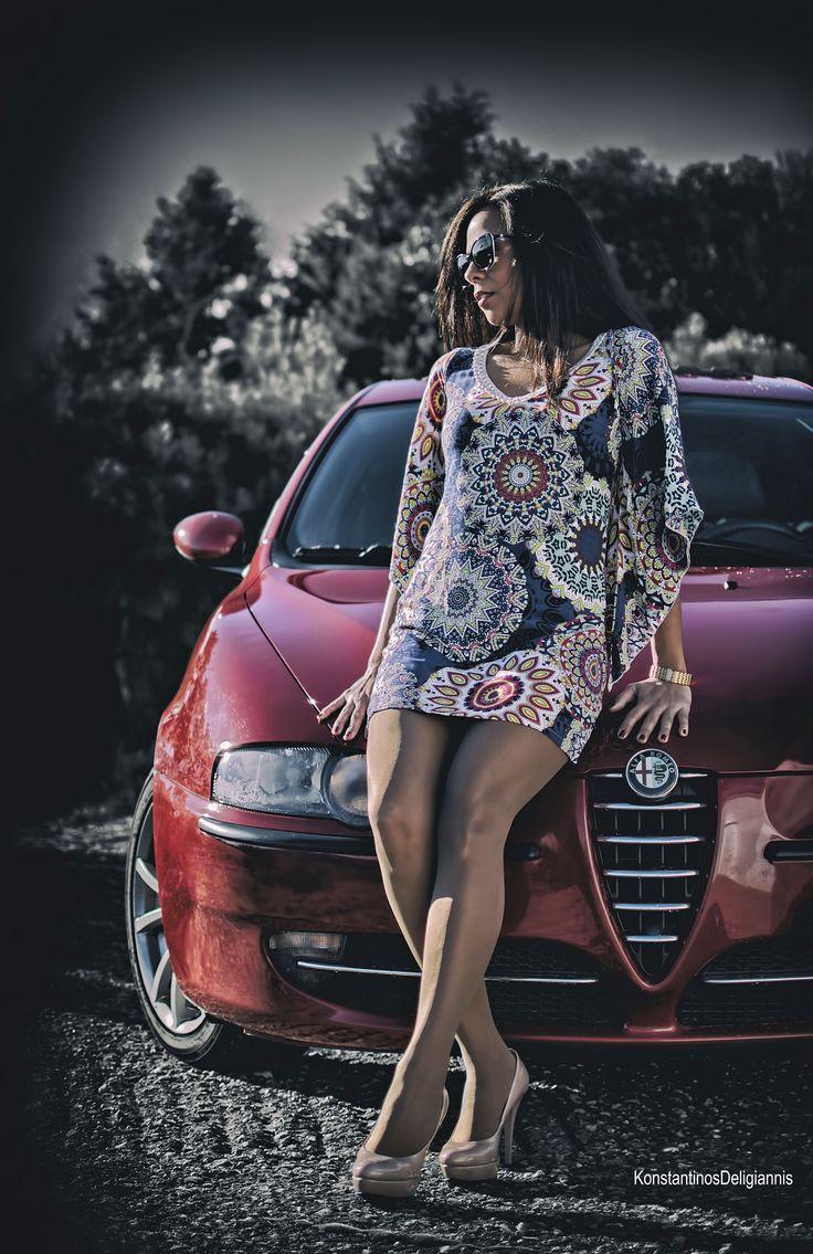 Photoshooting with Constantine's Alfa 147!