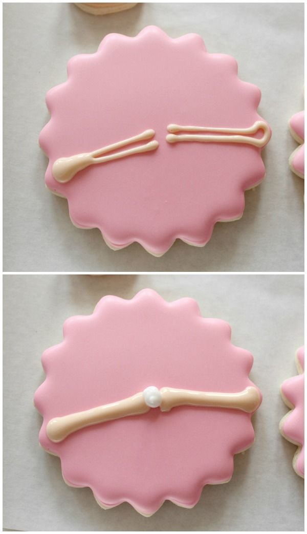Double Layer Ballerina Cookies 6
