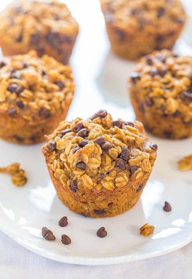 Oatmeal Pumpkin Muffins