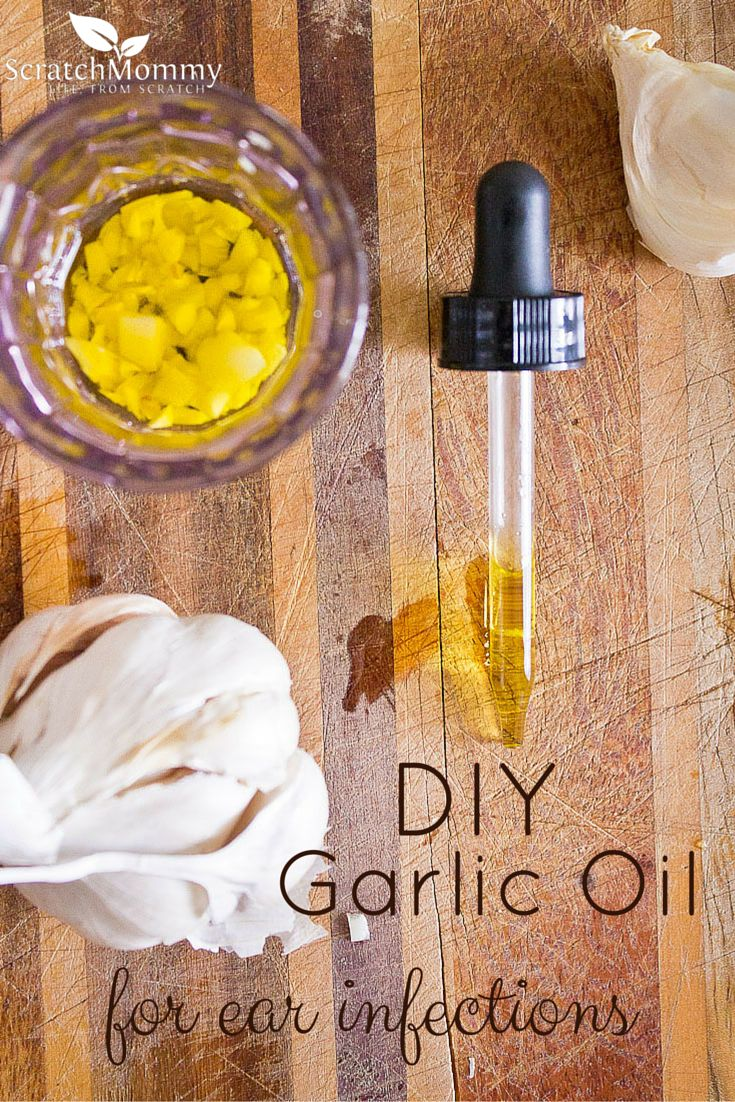 DIY Garlic Oil - A Home Remedy for Ear Infections