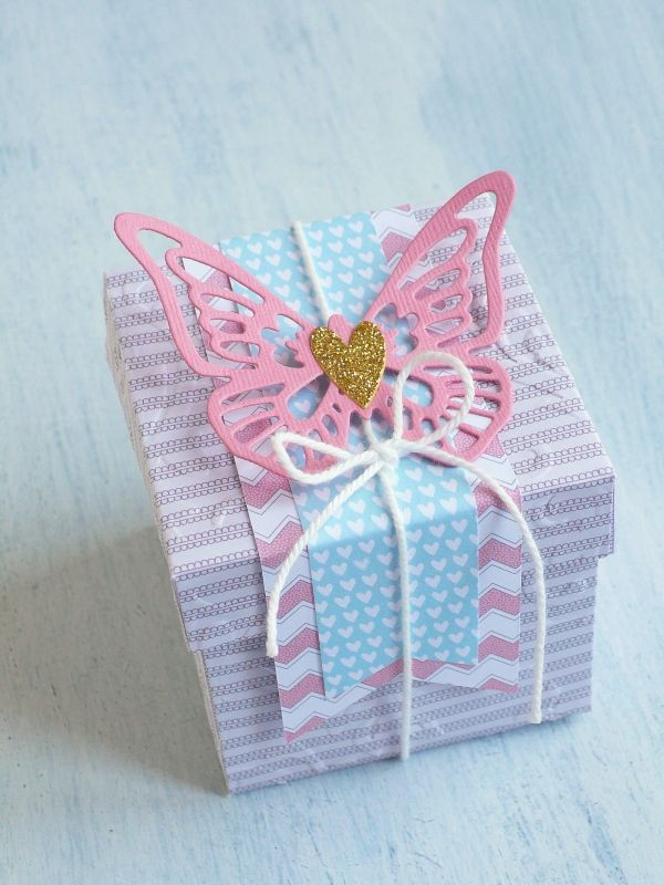 Sizzix big shot Plus Starter Kit -butterfly box by cafecreativo for Creative Rox-Craft Asylum
