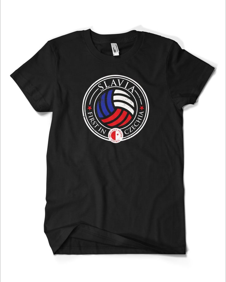 Slavia - first in Czechia #tshirt #Czechia #Slavia #football #club