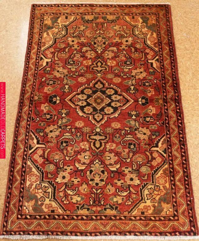 Persian Hamedan Tribal Hand Knotted Wool Rust Ivory Oriental Rug 4 X 6 Persianhamedantribal Oriental Rug Rugs On Carpet Rugs