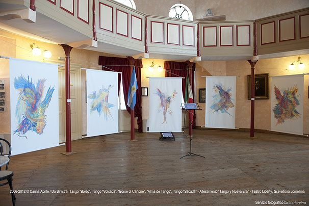 "Exibition Project ""CARINA APRILE - TANGO y NUEVA ERA"" © Carina Aprile"