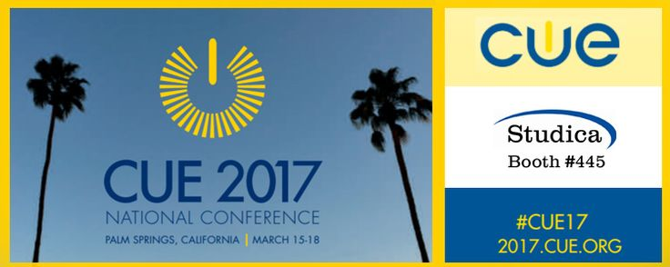 Once again, Studica is headed to Palm Springs, California for the CUE 2017 National Conference.  One of the premier education technology conferences in the United States, this event takes place on March 15th-18th.  Administrators, technology coordinators, and educators…