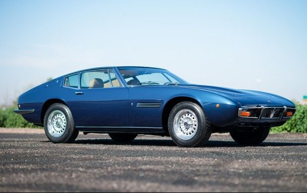 1970 Maserati Ghibli - Gooding & Co. - You can lease this car through Premier Financial Services! Visit pfsllc.com to get pre-approved before the auction. #auto #lease #vintage #finance #ameliaisland #exotic