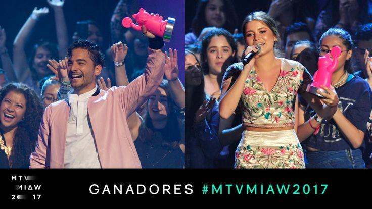 ¡Estos son los ganadores de los Premios MTV MIAW!