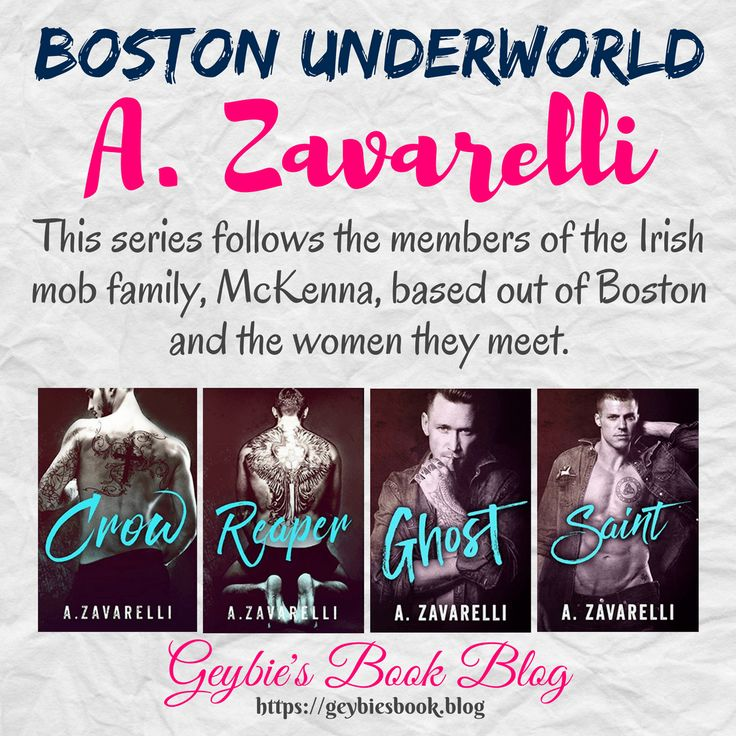 Boston Underworld series by A. Zavarelli (1)