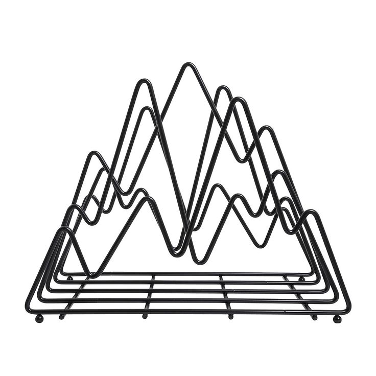 Home decor, mountain mag rack