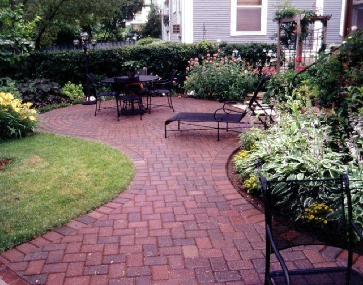 110 best patio images on pinterest | outdoor ideas, patio ideas ... - Brick Patios Ideas