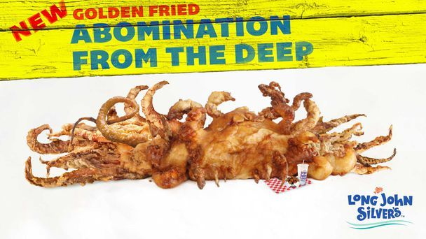 Long John Silver's Introduces New Golden Fried Abomination From The Deep
