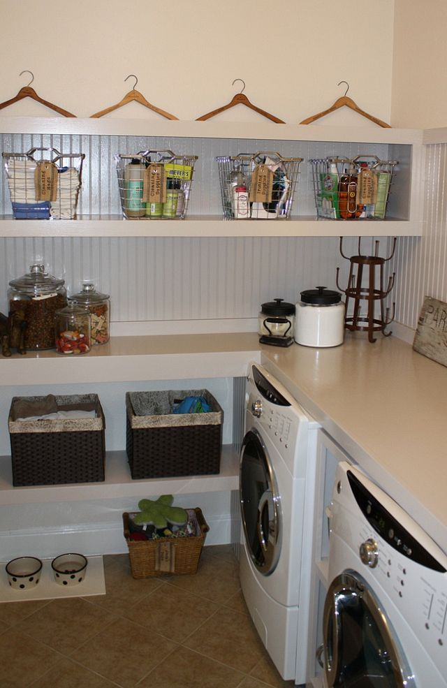 diy built ins keep your laundry room organized and attractive