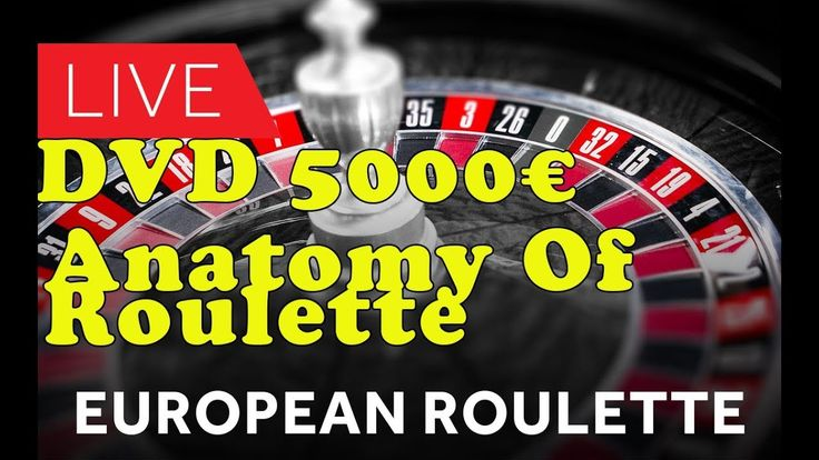 DVD €5000 Anatomy Of Roulette Immersive LIVE SESSION