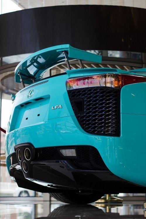 Lexus LFA In Tiffany Blue   Better Then Any Tiffany Jewelry To Me :)