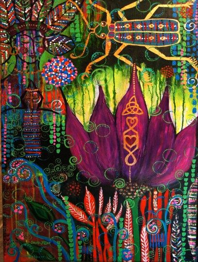 48 Best Images About Intuitive Painting On Pinterest