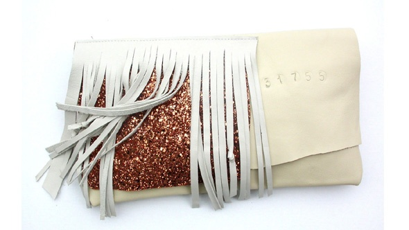 ECO leather clutch