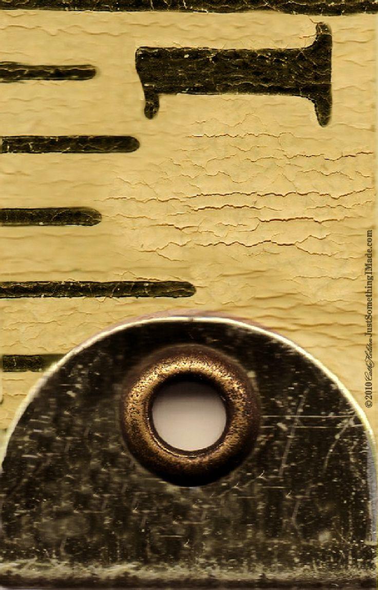 Printable vintage measuring tape pictures. Numbers 1-5 ...