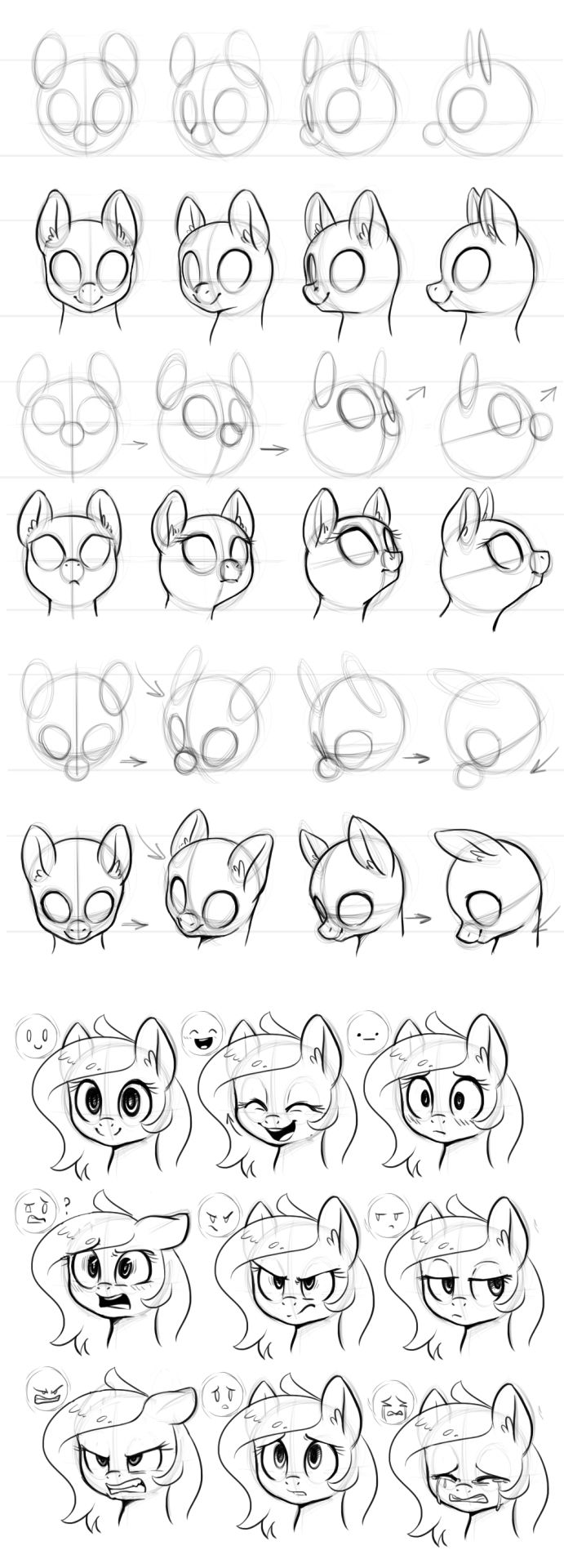 My best friend want a drawing from one of the ponys.... I think this is helpful..