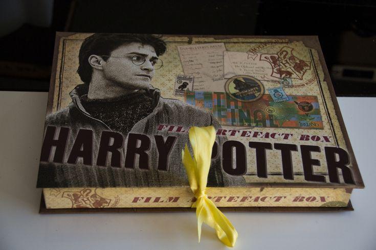 Quelques produits dérivés Harry Potter