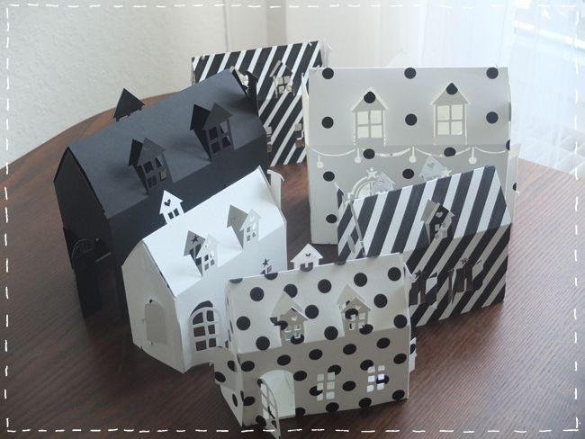 1000 id es sur le th me maisons en papier sur pinterest - Maison en papier a imprimer ...