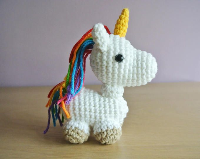 Free Crochet Unicorn Pattern - Red Ted Art - Make crafting with ... | 540x680