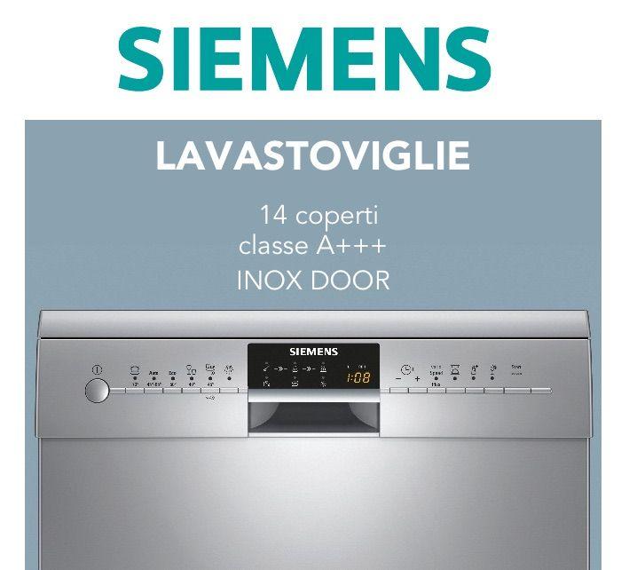 SIEMENS SN26P892EU - varioSpeed Plus per lavaggi più veloci - zeolite per risparmiare energia - classe di efficienza energetica A+++  #pulizie #piatti #stoviglie #aiutoincucina #risparmio #qualità
