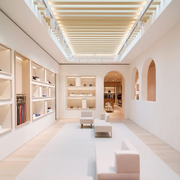 Inside The Designers Studio: 10 Of The Best Fashion Boutiques From Dezeen's Pinterest Boards