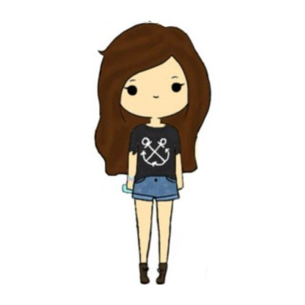 Chibis ❤ liked on Polyvore featuring fillers, chibis, anime, drawings, other, doodle and scribble